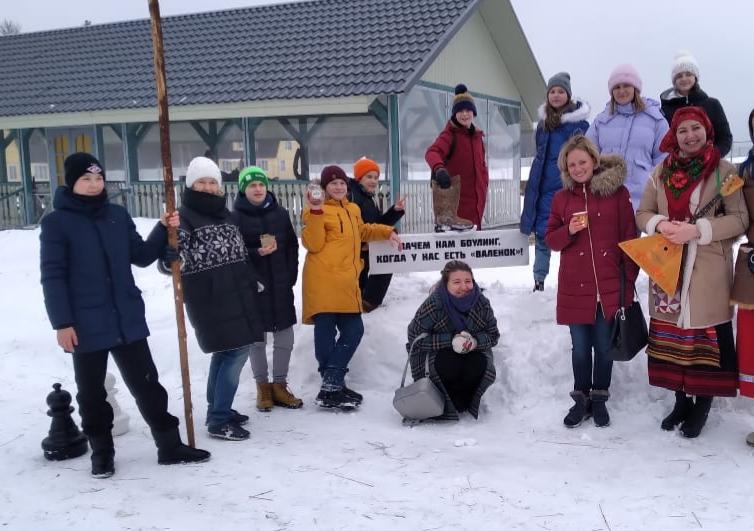 Активно провожали зиму!